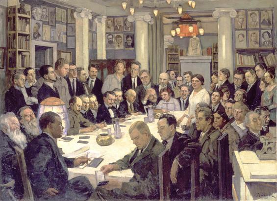 K.F.Uon. Zasedanie N-cebbotnikov.1930 (565x410, 56Kb)