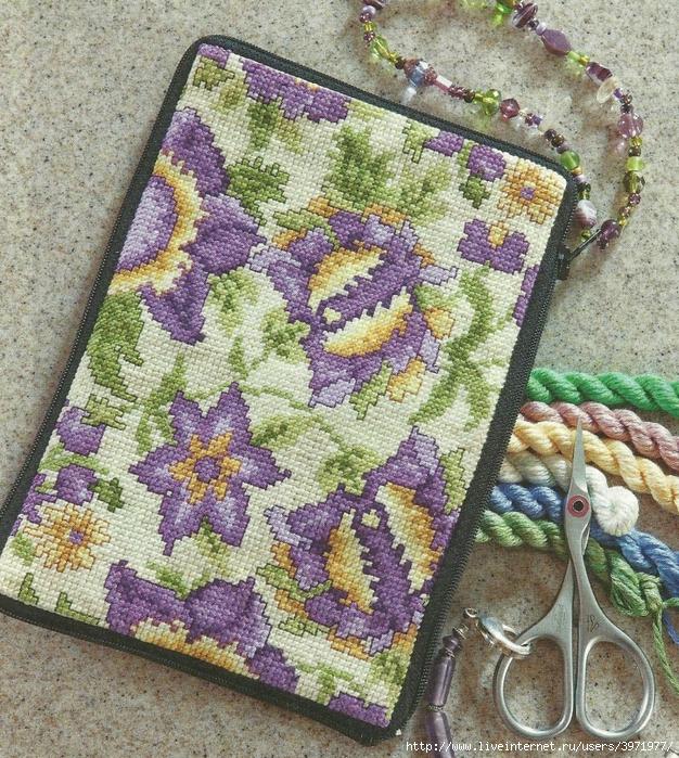 Схемы вышивки крестом для чехла на телефон