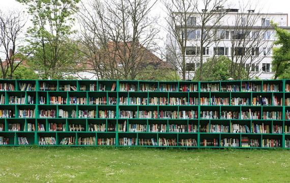 библиотека под небом (570x359, 224Kb)