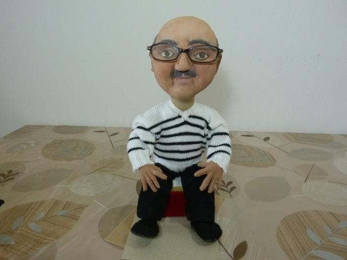 "Игрушки: портной (кукла, авторская кукла, кукла из чулка) "" ProstoDelkino.com - поделки своими руками."