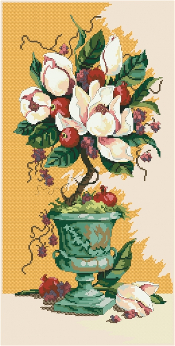 3971977_Dimensions13637_Urn_Of_Magnolias (355x700, 217Kb)