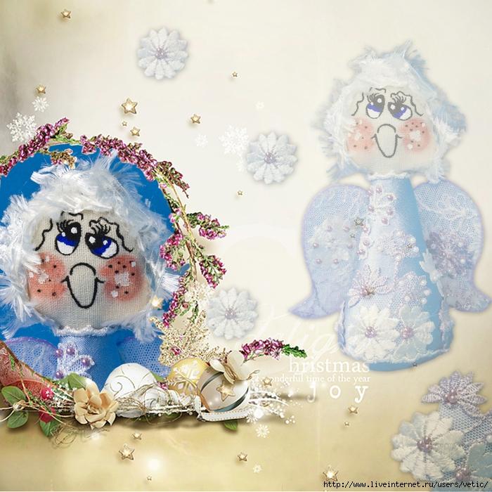 белокурый ангелок в голубом с вышивкой с бусинами 01 (скрап) (700x700, 390Kb)