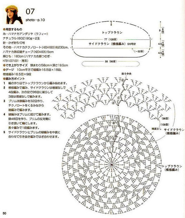 Вязание кепок описание и схемы 83
