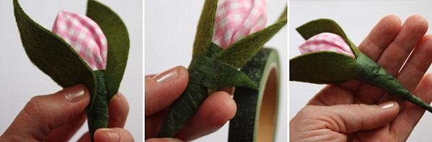букет из конфет «Тюльпаны»