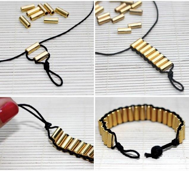 Как сделать своими руками браслеты из бисера