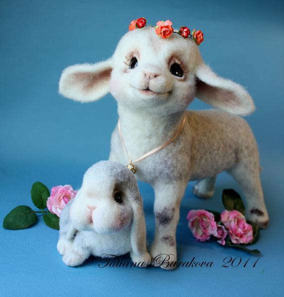 Овцы своими руками из шерсти