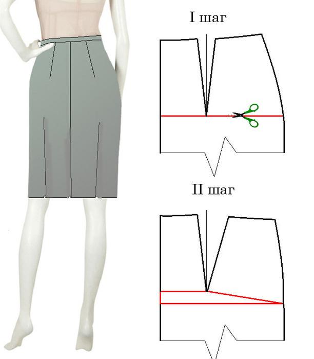 Исправить дефект на юбке