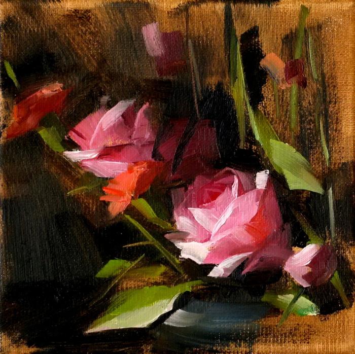 Pink roses (700x698, 620Kb)