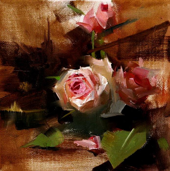 Rose impression (694x700, 631Kb)