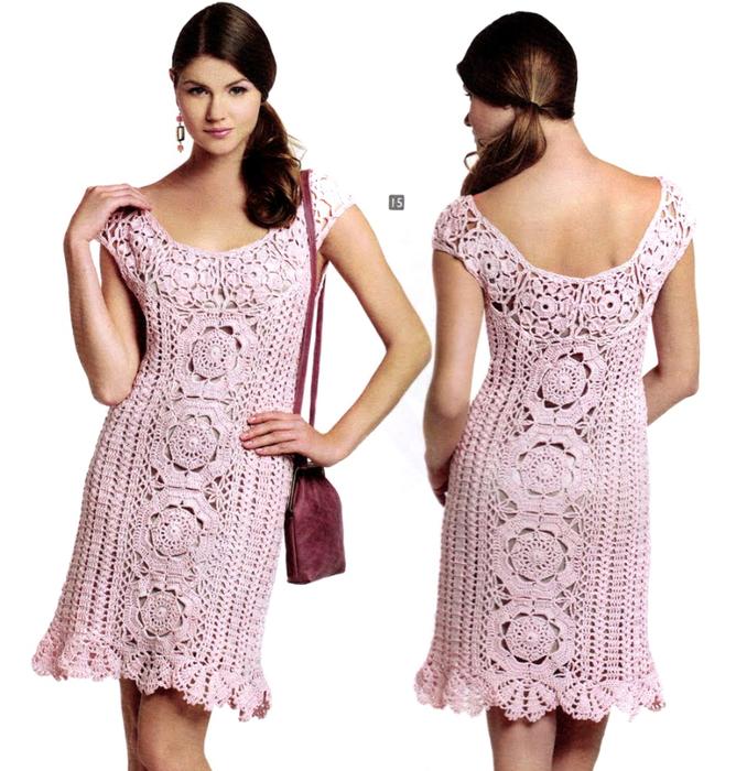Ажурные платья в коллекцию