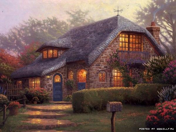 Самые необычные красивые дома мира