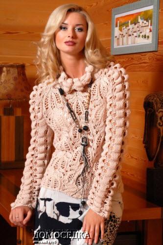 Для вязания нужно 450 г пряжи