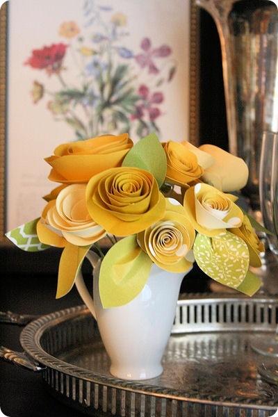 Любые цветы своими руками из любой бумаги