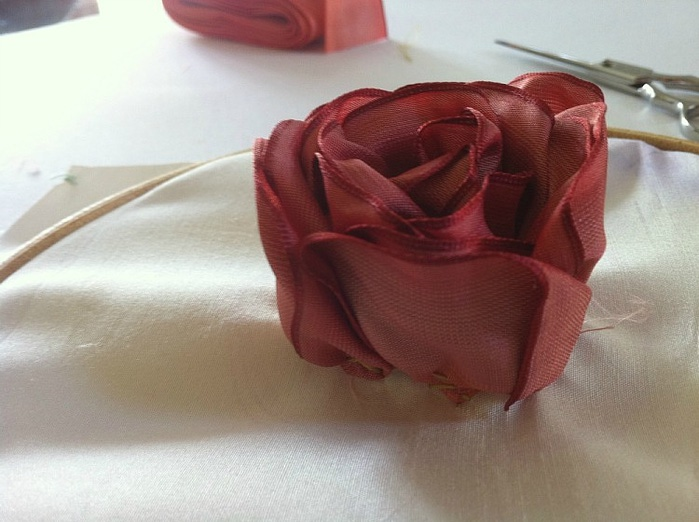 [转载]缤纷的丝带花朵