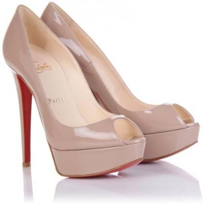 Туфли с открытым носком на высоком каблуке: добавьте
