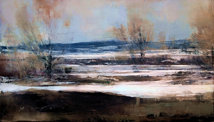 Quietly Flowing River - Winter low res (700x401, 97Kb)