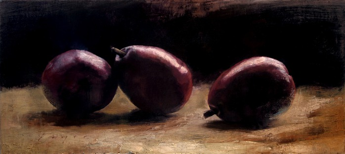 Three Anjou Pears low res (700x313, 50Kb)