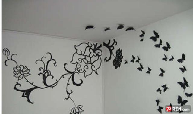 Сделать украшения своими руками для комнаты