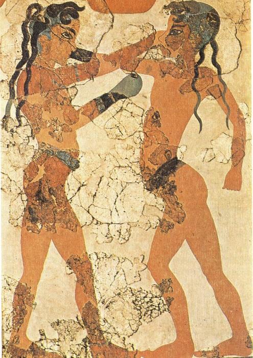 кулачный бой греки (495x700, 160Kb)