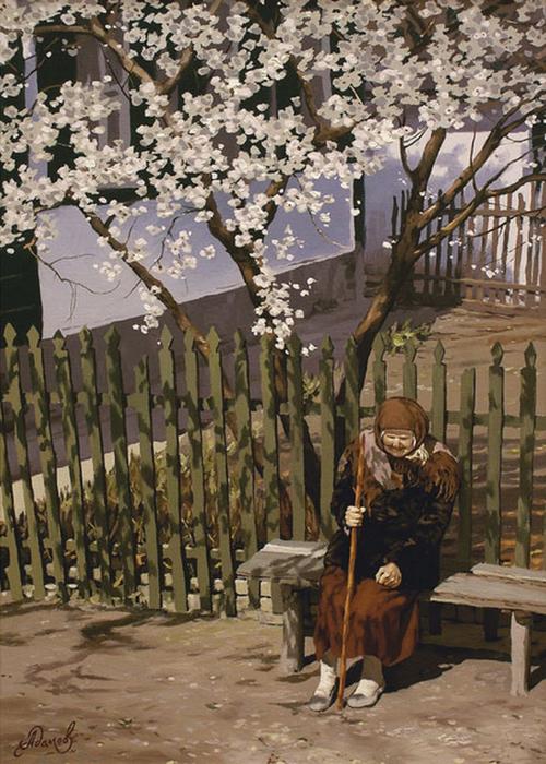 Современный русский живописец Адамов Алексей 43 (500x700, 452Kb)