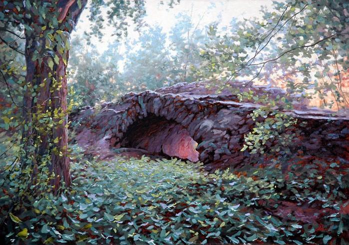 Современный русский живописец Адамов Алексей 47 (700x491, 152Kb)