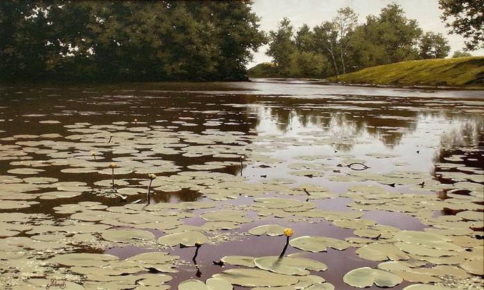 Современный русский живописец Адамов Алексей 58 (700x418, 119Kb)