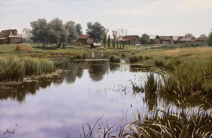 Современный русский живописец Адамов Алексей 61 (700x455, 95Kb)