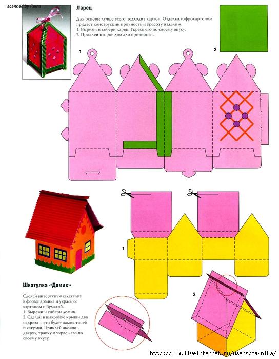 Модель из бумаги своими руками для детей