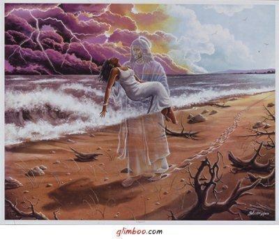 Бог несёт тебя на руках (400x342, 34Kb)