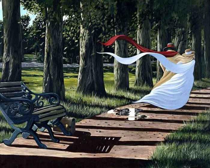 Lady in red. Виктор Островский. ИПОСТАСЬ ШПИОНКА.