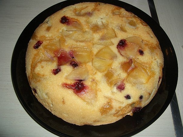 пирог с фруктами (604x453, 87Kb)
