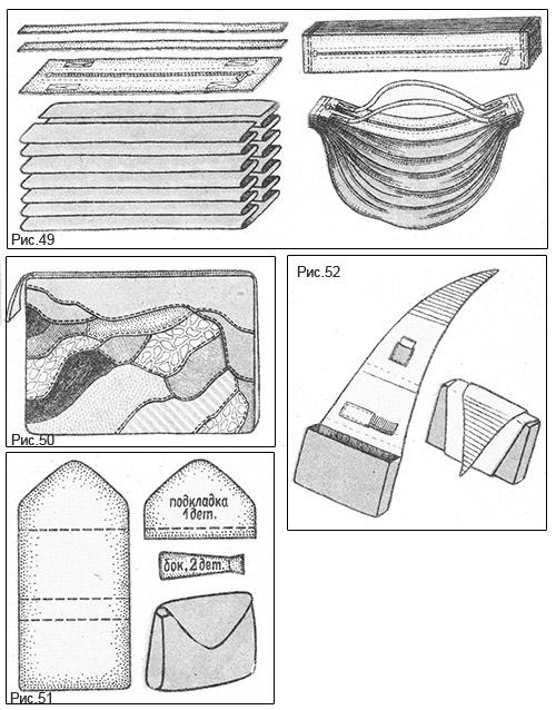 Выкройка клатча из кожи своими руками выкройки 2