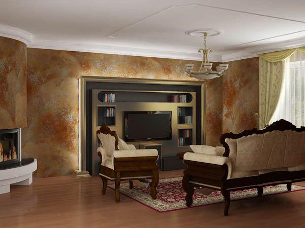 Дизайн гостиной 17 метров фото