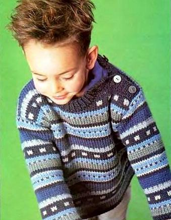 Золушка вяжет 156-2005-01 Спец выпуск Модели Франции Для детей_20б (339x436, 69Kb)