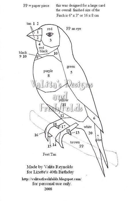 Gouldian Finch pattern (449x700, 42Kb)