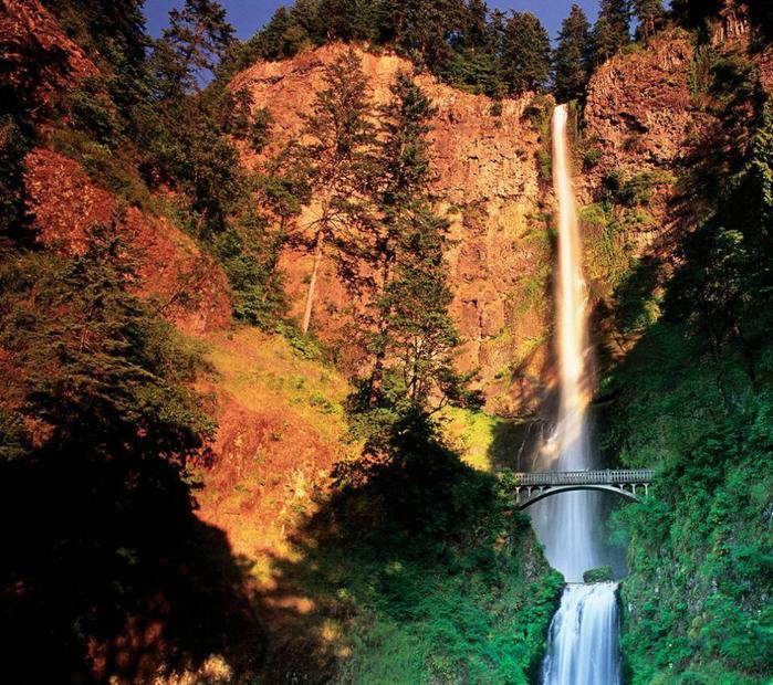 красивый водопад фото 3 (700x620, 637Kb)