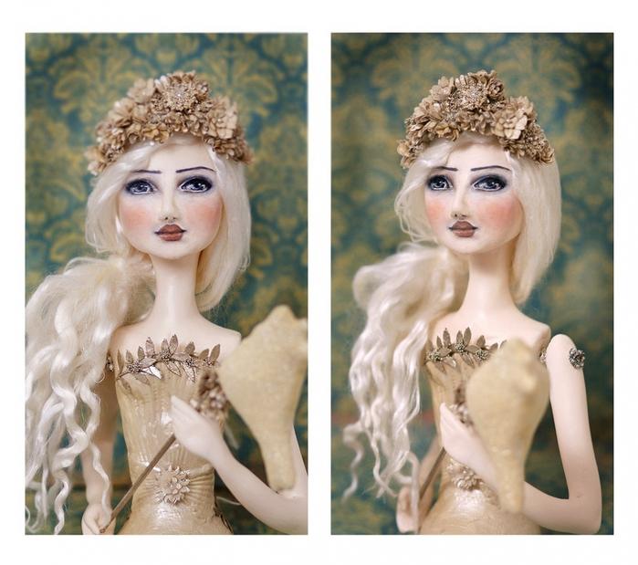 Портретную куклу своими руками