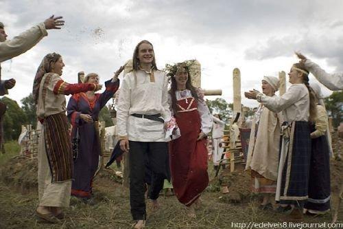Современная славянская  свадьба (500x333, 37Kb)