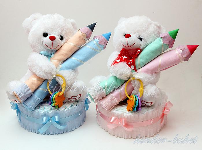 Подарки с памперсов своими руками