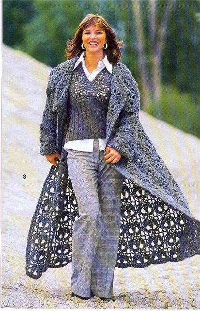 Описание пальто из журнала