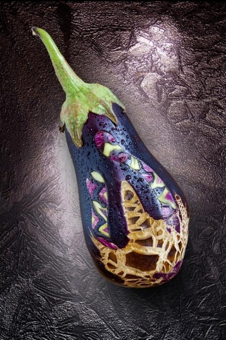 Креативнsй карвинг из овощей и фруктов11 (466x700, 390Kb)