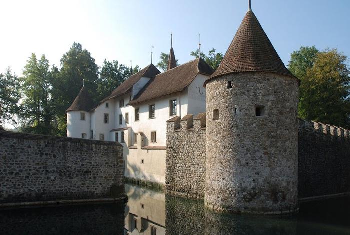 Замок Хальвиль (Schloss Hallwyl) 25260