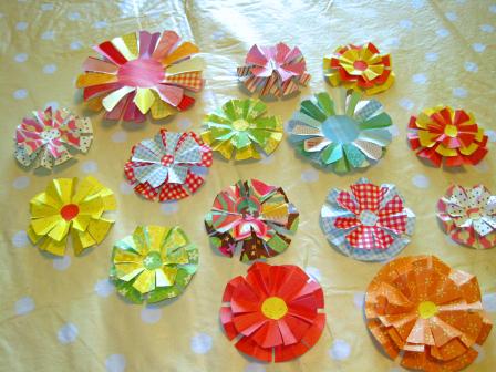 Весенние цветы из пластилина - Изготавлимаем цветы