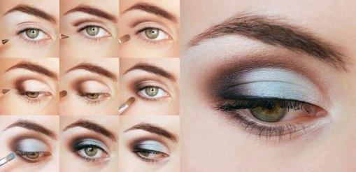 2.Классический макияж для коррекции круглых глаз - также отличный вариант дневного мейка, который очень легко...