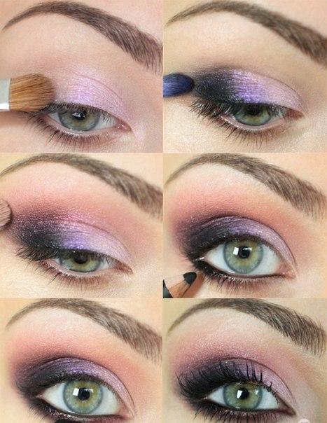 Красивый макияж мастер-класс