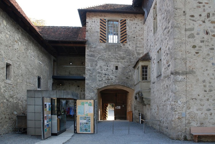 Замок Хальвиль (Schloss Hallwyl) 34509
