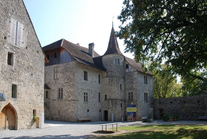 Замок Хальвиль (Schloss Hallwyl) 63700