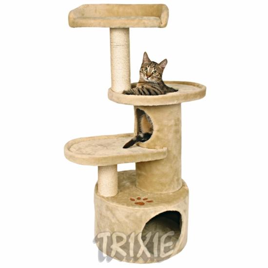 Кошачий дом или дерево способны так же удовлетворить потребности кошки в подвижных играх, здесь они могут лазать...