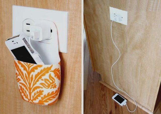 Чехол для зарядки мобильного телефона.