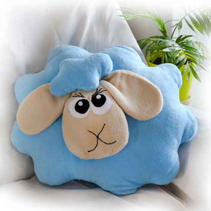 Декоративная подушка овечки своими руками
